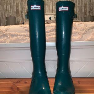 Emerald Hunter Boots